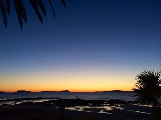 Timon Playa: Puesta de sol desde el Timón Playa