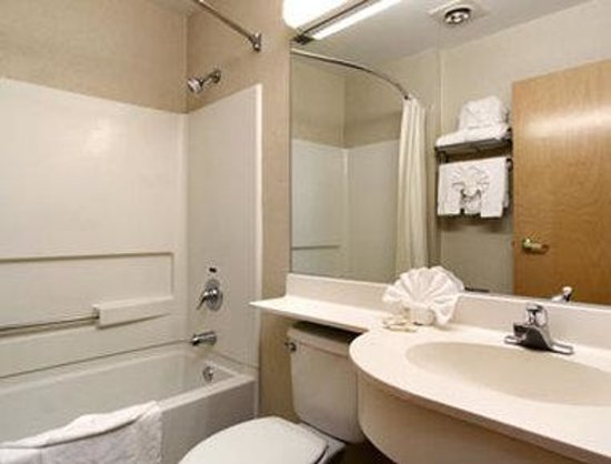 Microtel Inn & Suites by Wyndham West Chester: Bathroom