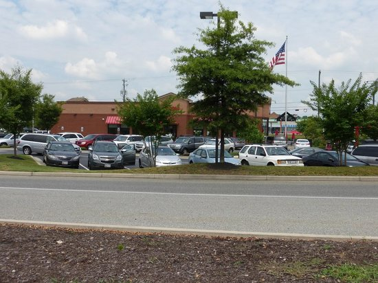 Elkton Chick-Fil-A from Walmart entrance
