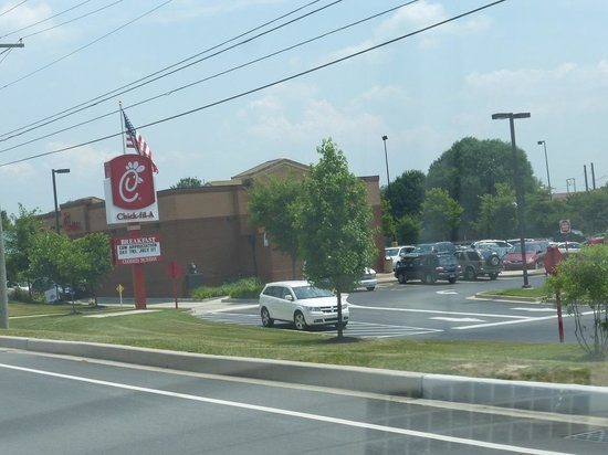 Elkton Chick-Fil-A from Rt 40