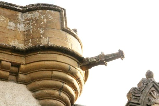 Tulloch Castle Hotel : I wanted this to be a cannon but its apparently a water spout