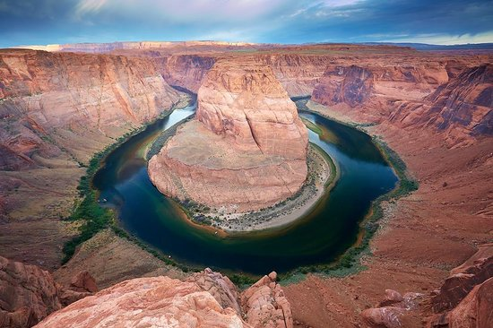 Horseshoe Bend : view just after sunrise