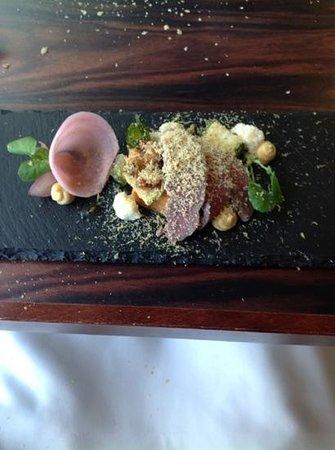Damson Restaurant: Home cured duck ham