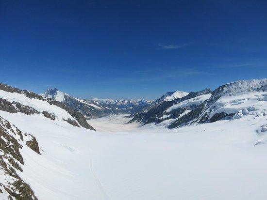 Jungfraujoch : 3,454m の絶景