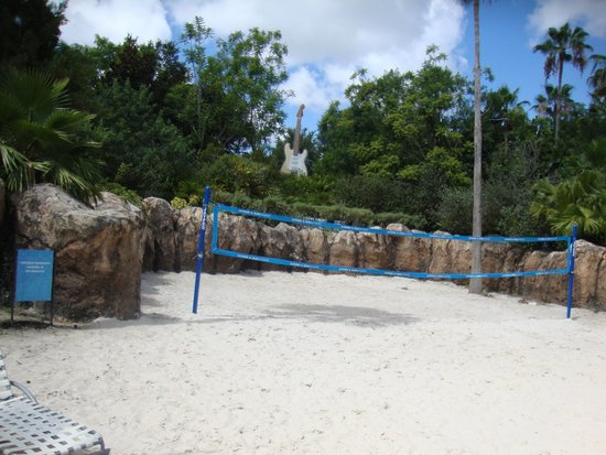 Hard Rock Hotel at Universal Orlando : Volley Ball Court