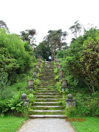 Bantry House & Garden: The 100 Steps - Go on you know you want to.......