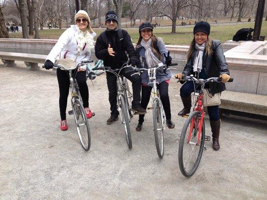 Central Park Tours: Passeio bike pelo central park