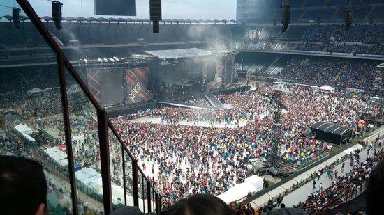 Dal Secondo Anello Rosso La Vista Foto Di Stadio