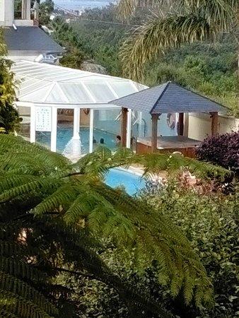 Hotel Bosque-mar: desde la terraza