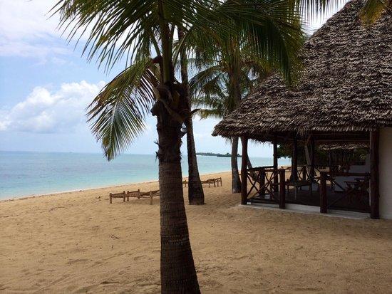 Chapwani Private Island: Bungalow et plage