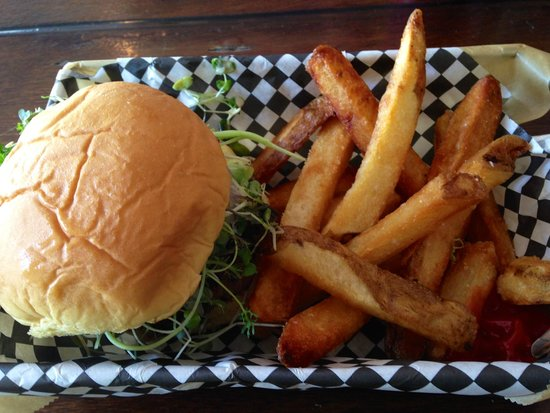 Mission : Fantastic burger and fries!