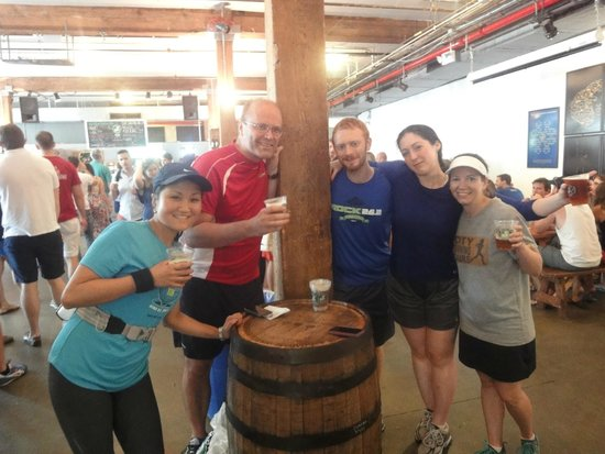 City Running Tours: Grab beers at Brooklyn Brewery after the run