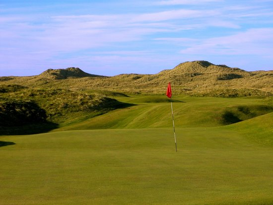Fraserburgh, UK: 10th Green