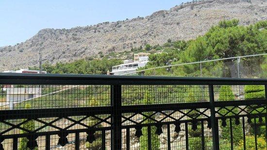Pefkos Beach Hotel: view from balcony 508