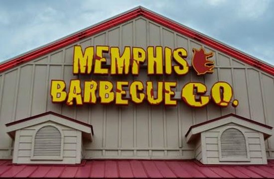 Memphis Barbecue Co. : Front entrance