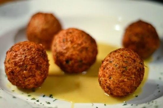Memphis Barbecue Co. : The heavenly cheese fritters - fantastic!