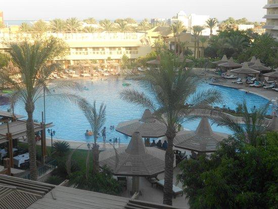 Sindbad Aqua Hotel & Spa : вид из нашего номера