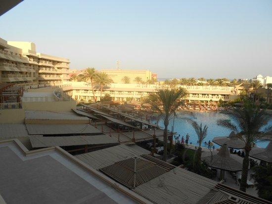 Sindbad Aqua Hotel & Spa : вид с балкона