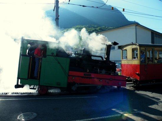 Schynige Platte: The Steam Engine