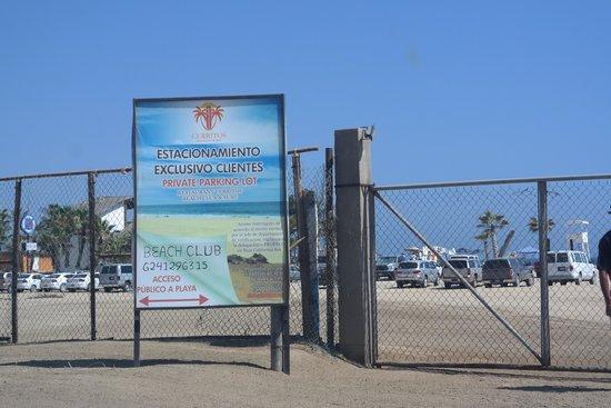 Playa Los Cerritos : playa