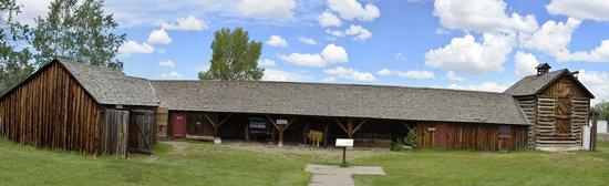 Fort Bridger State Historic Site: Emplement building