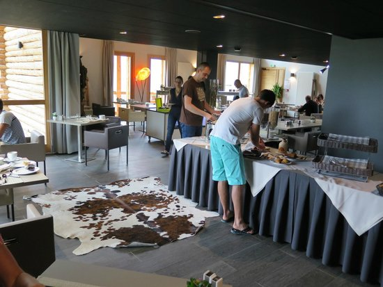 L'Alta Peyra Hôtel et Spa : petit déjeuner et repas du soir