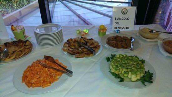 Diplomat Palace Hotel: vegan verdure