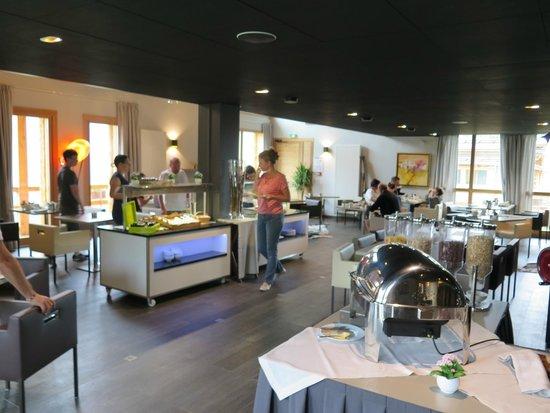 L'Alta Peyra Hôtel et Spa : petit déjeuner