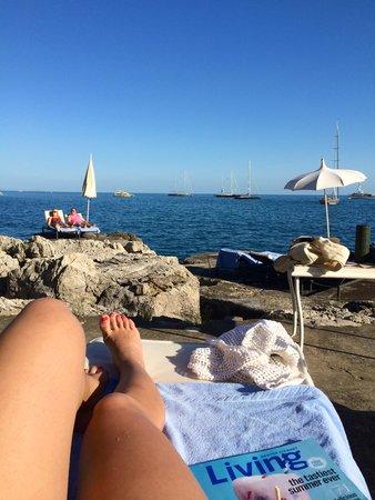 Villa Tre Ville: Private beach