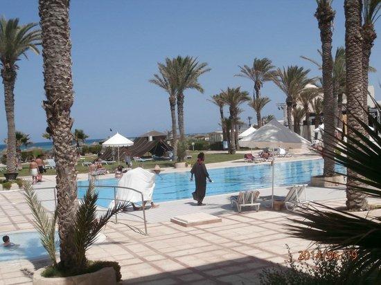 Al Jazira Beach & Spa: trés belle vue de la chambre