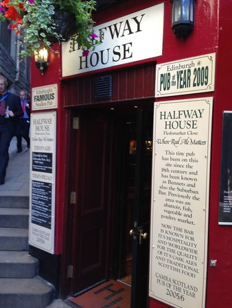 The Halfway House: Entrance