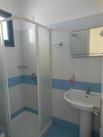 Blue and White: il bagno