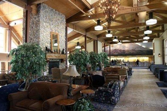 Denali Princess Wilderness Lodge: Main lobby