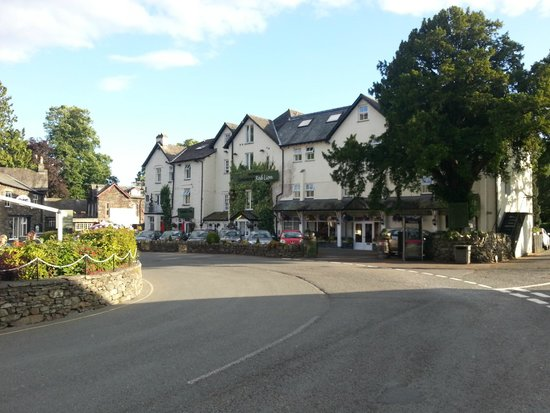 The Inn at Grasmere: Red Lion Square in Grasmere