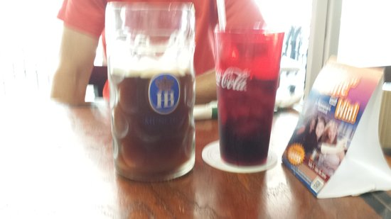 Hollerbach's: 1 liter beer! (and coke)