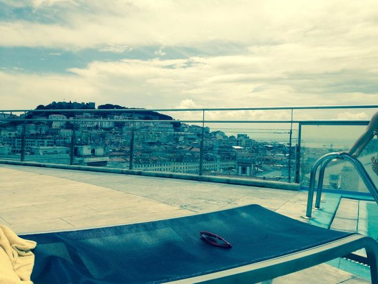 VIP Executive Eden Aparthotel: View from rooftop pool