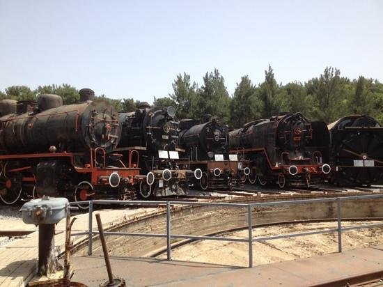 Camlik Locomotive Museum: more turntable engines