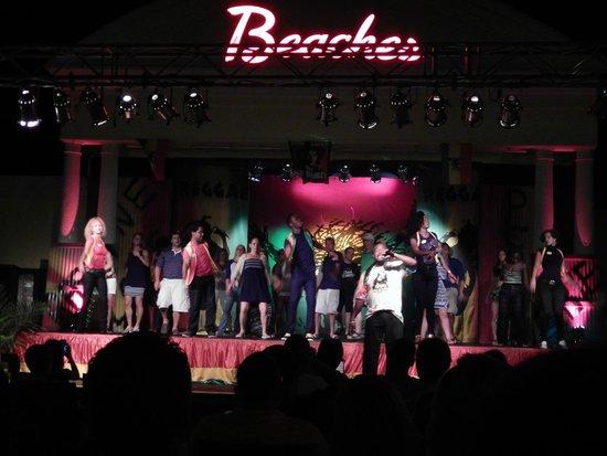 Beaches Turks & Caicos Resort Villages & Spa: Regae night! Ya mon :)