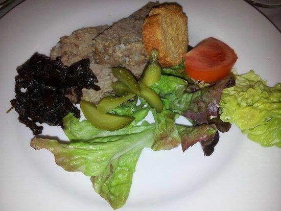 Le Nicol's: Terrine d'agneau (entrée)