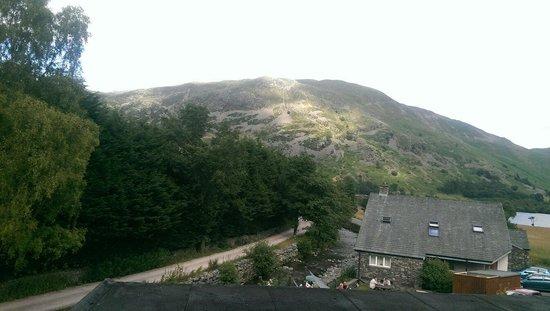 Best Western Glenridding Hotel: Veiw from window room 3