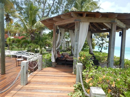 Beaches Turks & Caicos Resort Villages & Spa: Read a book, take a nap, enjoy the view and breeze...