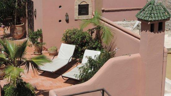 Riad Itrane : Les terrasses