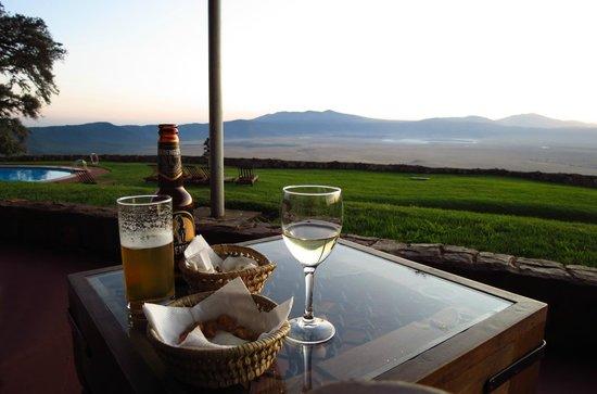 Ngorongoro Sopa Lodge: Sundowner