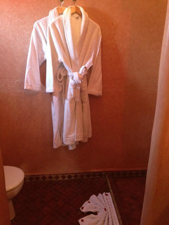 Riad Itrane : Salle de bain