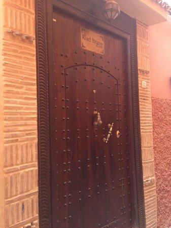 Riad Itrane : Entrée du Riad