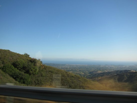 Sustainable Vine Wine Tours: Traveling back across the pass to Santa Barbara.