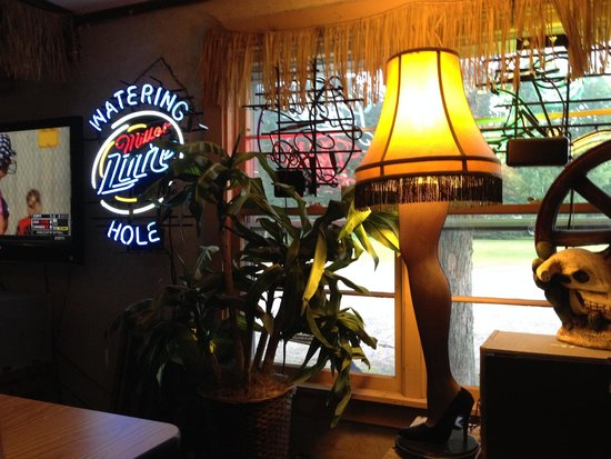 Watering Hole Cantina and Grille: Watering Hole Hazelhurst WI interior