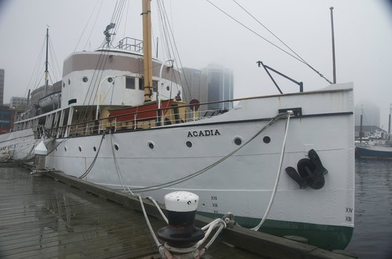 Maritime Museum of the Atlantic: Acadia Charting Legend