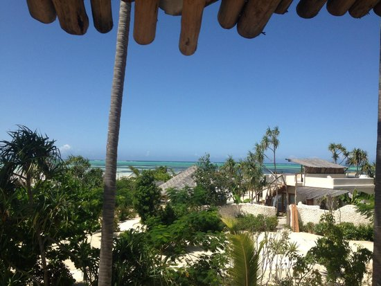 Zanzibar White Sand Luxury Villas & Spa (Relais & Chateaux): View from the balcony of the second bedroom