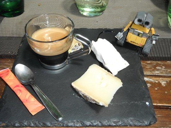 L'Affaire de Goût : Café fromagé partagé avec Wall-e